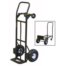 Milwaukee 800 Lb Capacity 2 In 1 Convertible Hand Truck With10 Never Flat Tires