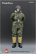 Alert Line 1:6 German Snow Reversible Cotton Padded Jacket Dark Pea Dot AL10003D