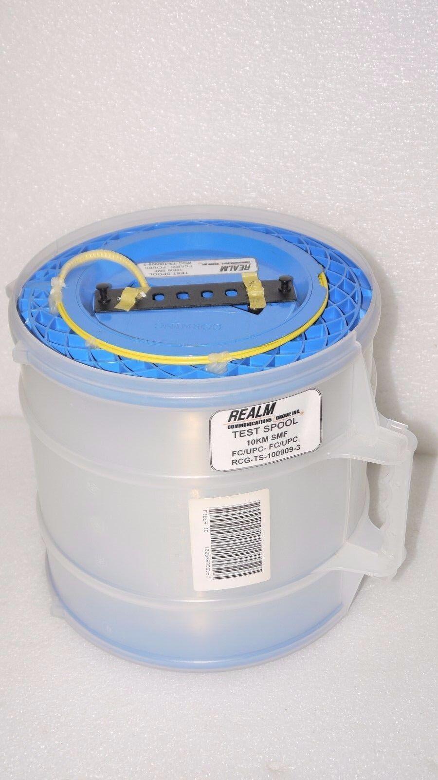 CORNING SMF SINGLE MODE OPTICAL FIBER CABLE WIRE SPOOL 10KM 10544 ...