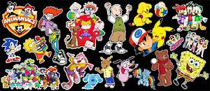 90-039-s-Morning-Cartoons-Tribute-Vinyl-Sticker-Bundle