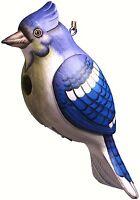 Birdhouse Bluejay Shaped Wood Bird House