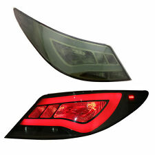 Tail Light For Hyundai Accent 2012-2017 LED Rear Black Taillights Assembly