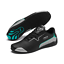 miniature 7 - Puma mercedes amg DRIFT CAT 8 Perforé Baskets en noir et argent