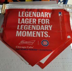 Chicago Cubs 2016 World Series Champions String Banner Budweiser Wrigley Field