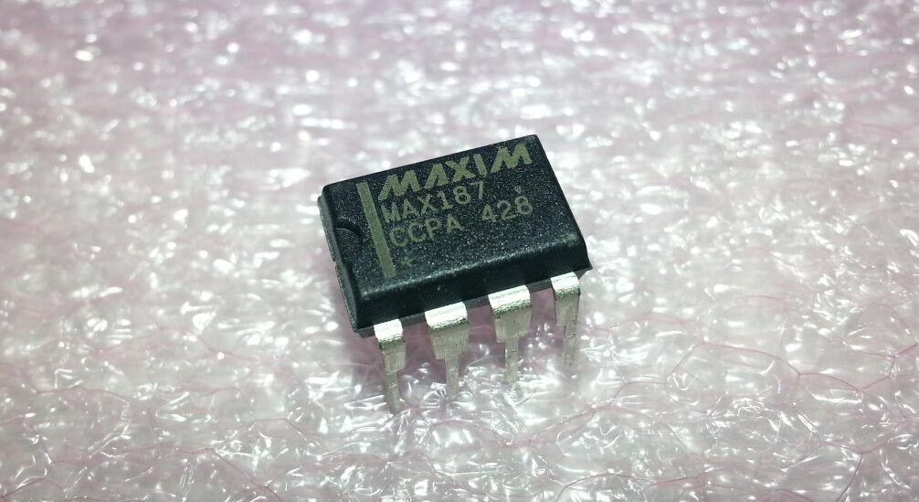 12 Bit ADC Congreener Maxim MAX187CCPA+ Precision 75KSPS Serial 8-Pin PDIP 50pcs