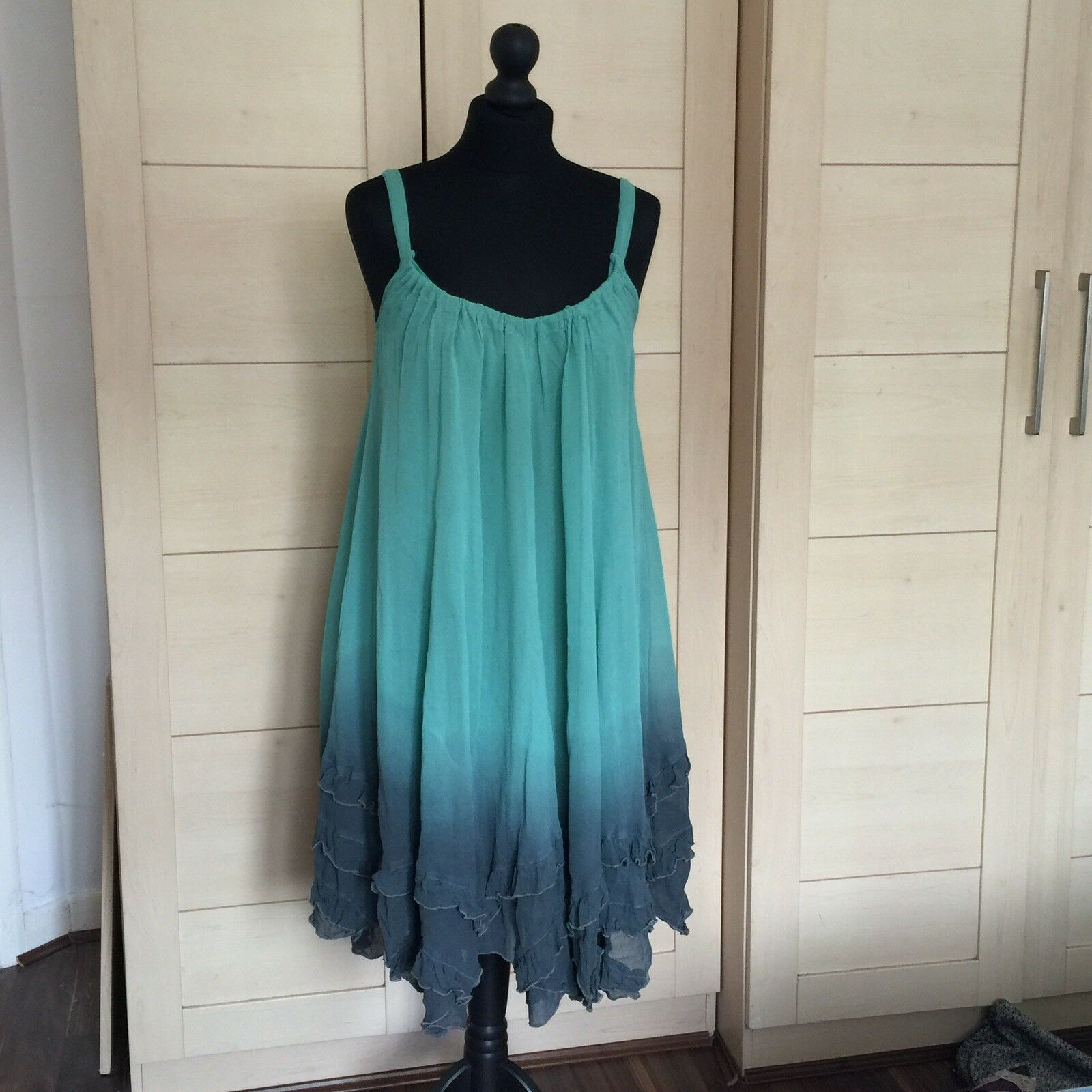 House of fraser Label Beach Dress Brand New With tag size 10 but can fit upto 14