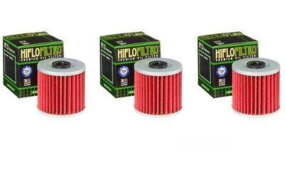 1995-2003 Kawasaki Lakota 300 Genuine HiFlo Oil Filter HF123 KEF300 Pack of 4