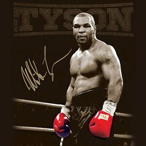 "Mike Tyson Knockout Punch poster decor photo print 16x24/"" 20x30/"" 24x36/"" sizes"