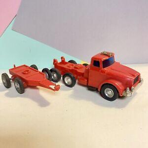 Matchbox-King-Size-Clon-Lucky-TOYS-K-10-Scammell-Pipe-Truck-Rojo-Modelo-Raro