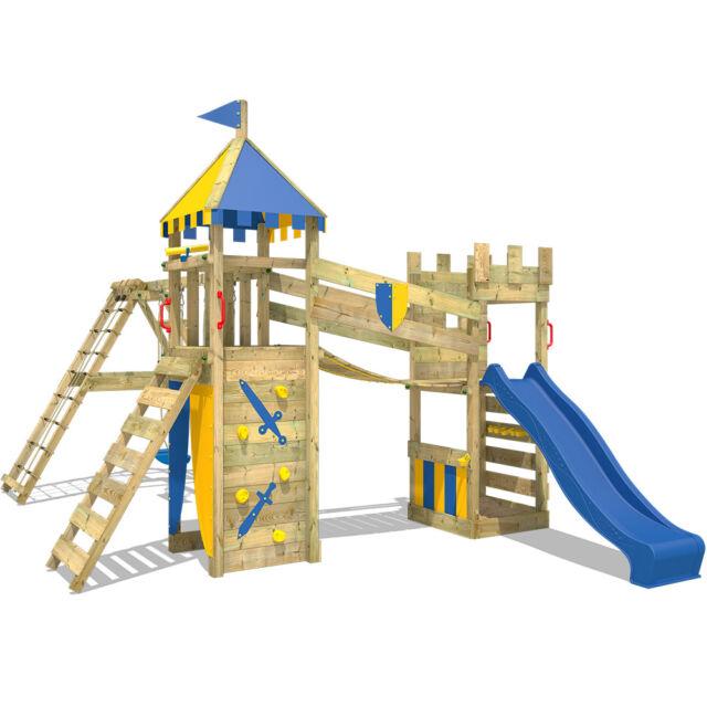 Wickey Smart Legend 120 Climbing Frame Kids Garden Playground Slide ...