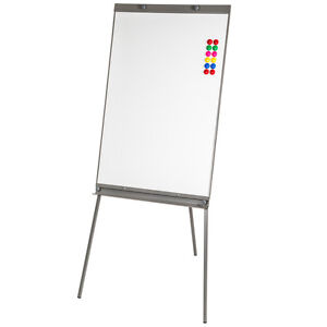 magnetic flip chart free standing whiteboard presentation panel 12