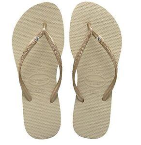 Original-HAVAIANAS-Flip-Flops-Women-Slim-crystal-various-colors-and-sizes