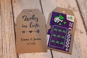 Personalised-Rustic-Lottery-scratchcard-holder-wedding-favour-tags-Lucky-in-love