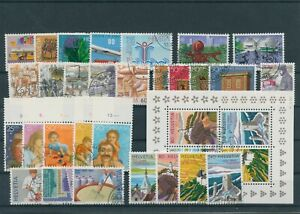 Suisse-Suisse-Vintage-Yearset-1987-Timbres-Used-Complet-Sh-Boutique