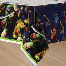 Teenage Mutant Ninja Turtles Green Plastic table cover 552468 120 x 180cm