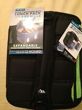 Arctic Zone ULTRA Lunch Pack (2 x Expandable) 2 ICE PACKS!! 3-in-1 Bento