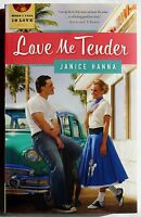 Paperback Book love Me Tender By Janice Hanna - When I Fall In Love Series