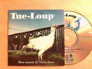 RARE-CD-PROMO-2-TITRES-TUE-LOUP-MONT-AMANT-DE-SAINT-JEAN-TRES-BON-ETAT