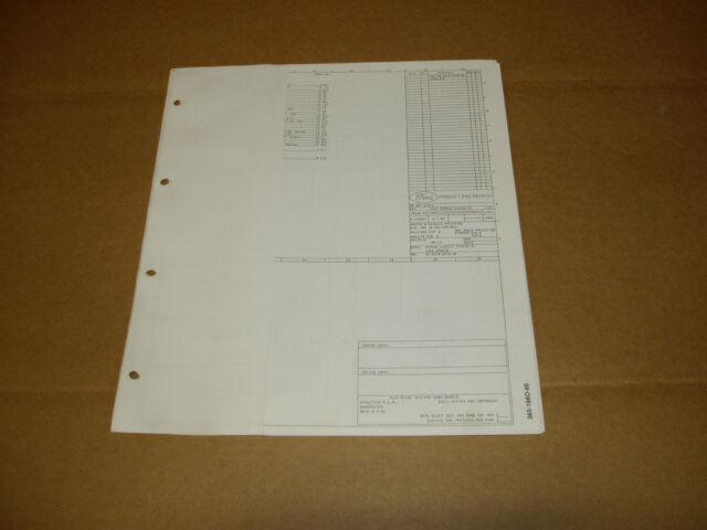 1986 Ford F600 F700 F800 Cab  Cowl Wiring Diagram Schematic