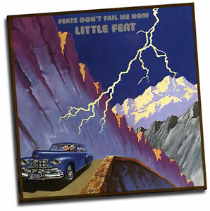 Little Feat Feats Don T Fail Me Now Giclee Canvas Album Cover