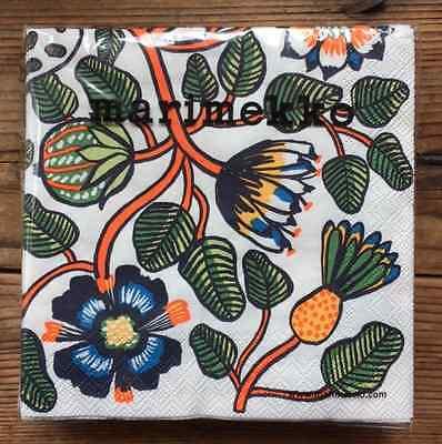 20 counts Finland decoupage colorful Marimekko paper napkins Tiara 24x24cm