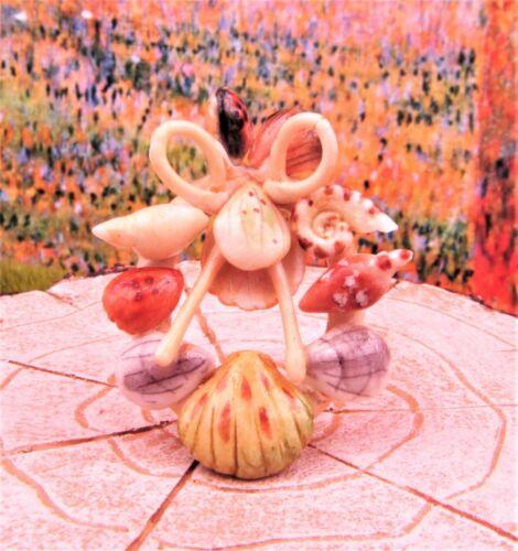 Buy 3 Save $5 Miniature Dollhouse Fairy Garden Seashell Wreath