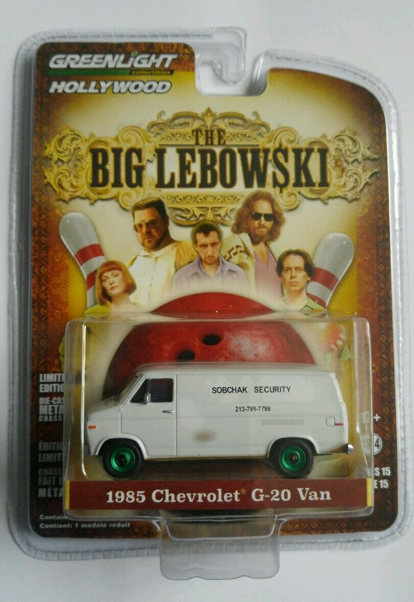 GREENLIGHT HOLLYWOOD THE BIG LEBOWSKY Chevrolet G-20 Van CHASE NEW