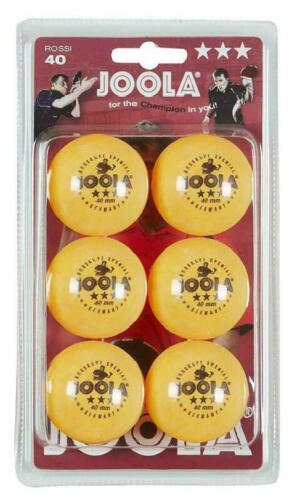 Joola Rosskopf Balles de tennis de table pack de 6