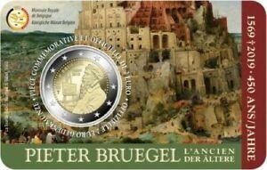 Belgica 2019 2€ Pieter Brueghel Edxlptad-07225944-790816307