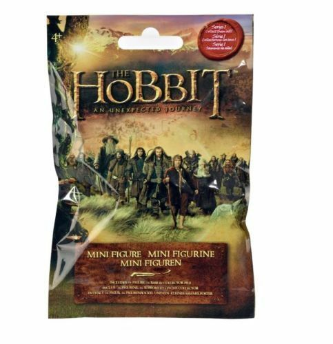 THE HOBBIT MINI FIGURE SERIES 1 UNEXPECTED JOURNEY 54 x x x BLIND BAGS NEW SEALED d2c203