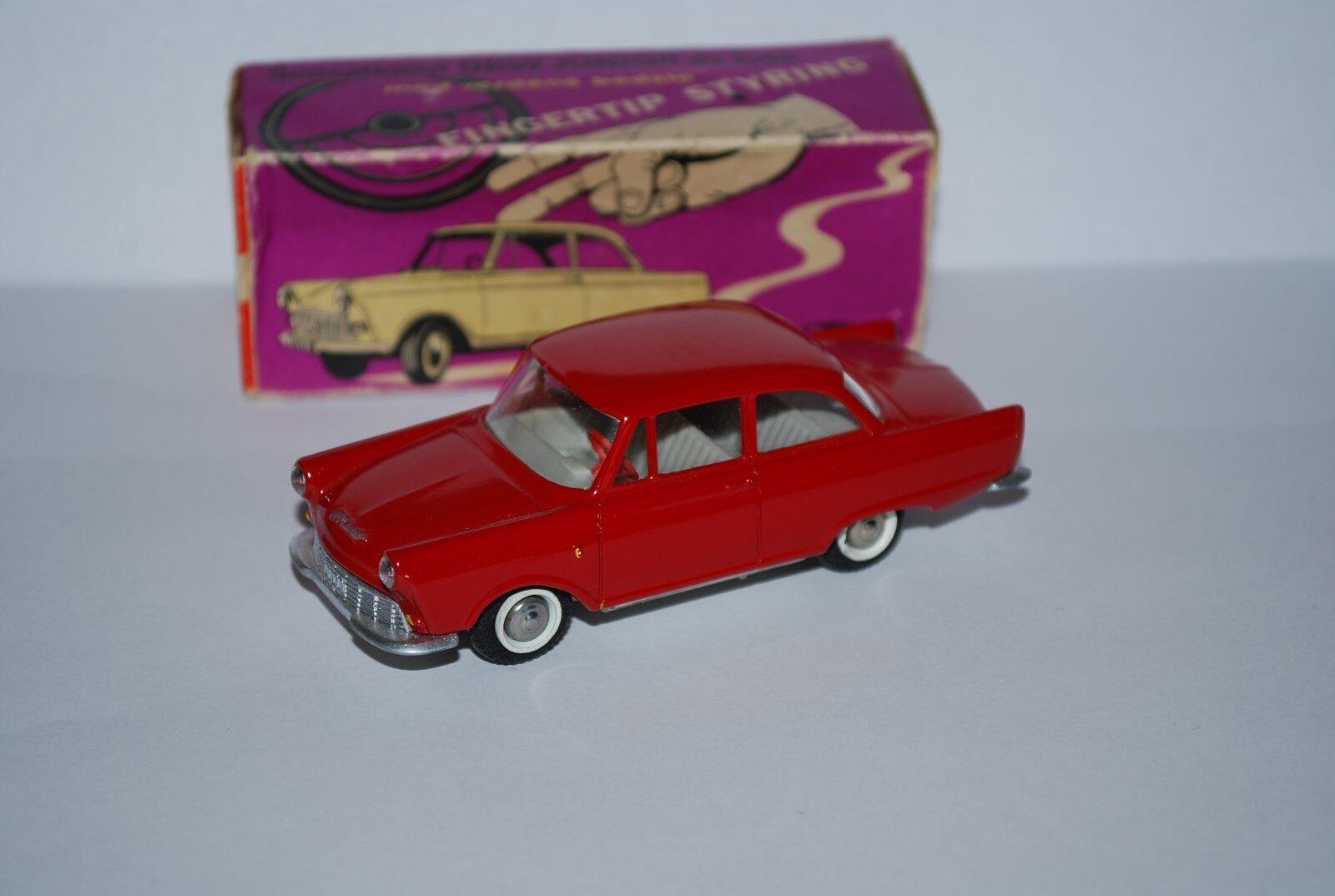 TEKNOI DKW JUNIOR DE LUXE ROUGE REF 727 NEUVE BOITE NEW BOX  SCALE 1 43