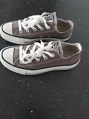 Genuine Grey Converse Size 4 UK . Great