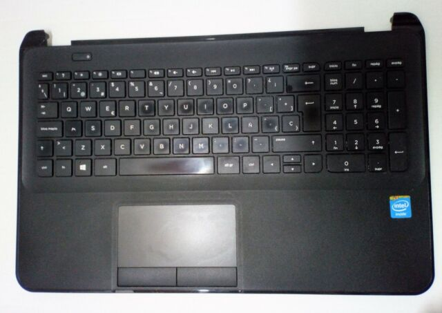 Palmrest (apoya manos) con Teclado y botón de encendido para HP 250