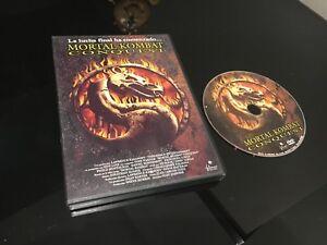 Mortal Kombat Conquest DVD La Lutte Bas Ha Getting Into