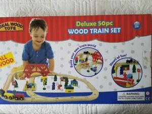 Real Wood Toys Deluxe 50 Piece