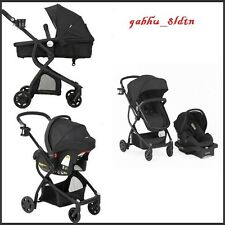item 4 baby stroller car seat 3in1 travel system infant carriage buggy bassinet black baby stroller car seat 3in1 travel system infant carriage buggy