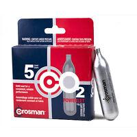 Crosman 5 Qty Co2 Powerlet Cartridges For Gas Powered Guns Model 231b