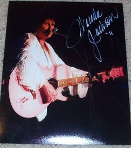 Country Wanda Jackson Signed 8x10 Photo Autograph C W/proof Great Varieties