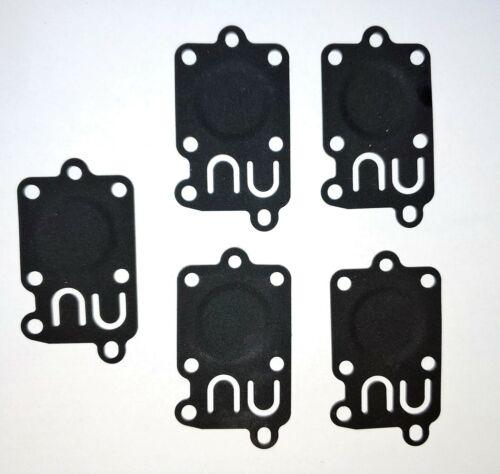 5 Pack Carburetor Diaphragm for Briggs /& Stratton 272538S 272538 8364 49-001
