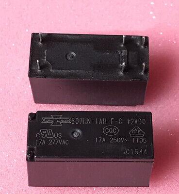 2pcs new  Relay   507-1AH-F-S-12VDC