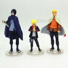 Anime Boruto Naruto next generation father & son hokage PVC figure statue loose