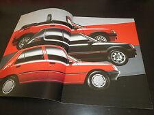 Peugeot 205 prospekt brochure von 1992 Deutsch inkl. GTI & Cabriolet