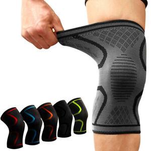 Knee-Sleeves-Support-Crossfit-Power-Weight-Lifting-Squats-Brace-Compression-Gym