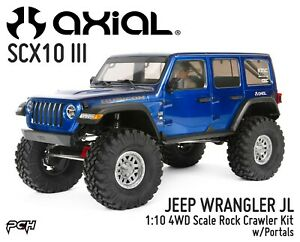 AXIAL-RACING-1-10-SCX10-III-JEEP-WRANGLER-JL-Rock-Crawler-Kit-w-Portals-AXI03007