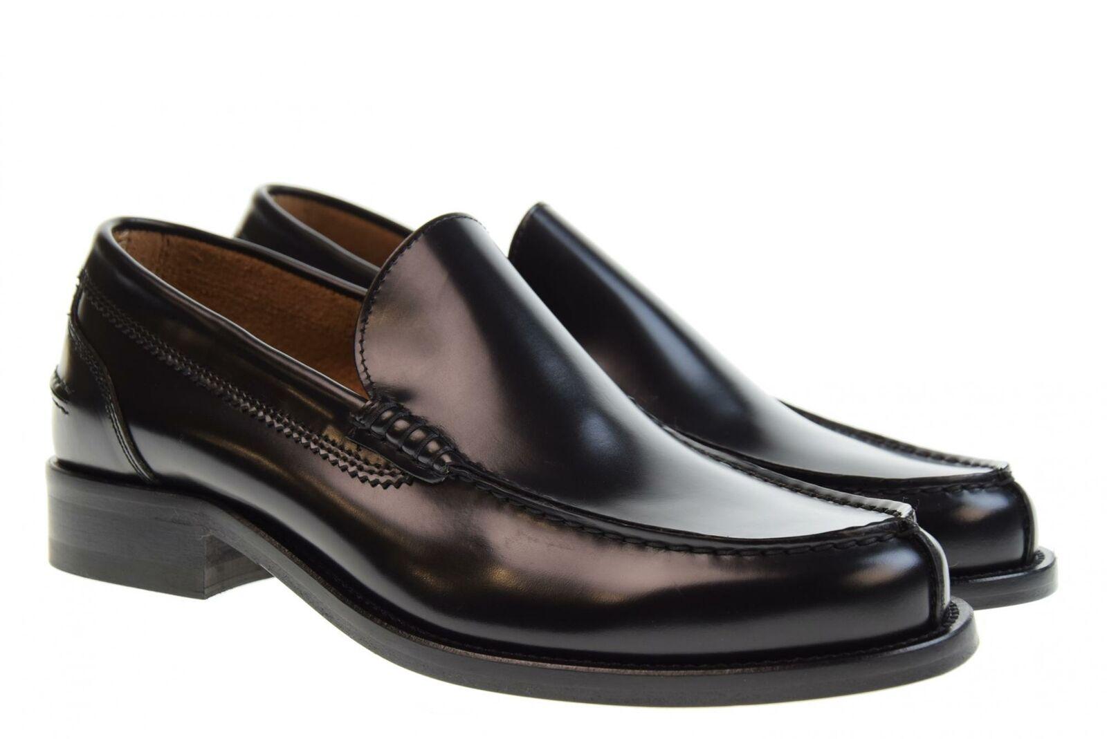 Antica Cuoieria P19u men's shoes moccasins 20775-G-G04 GLOSS black