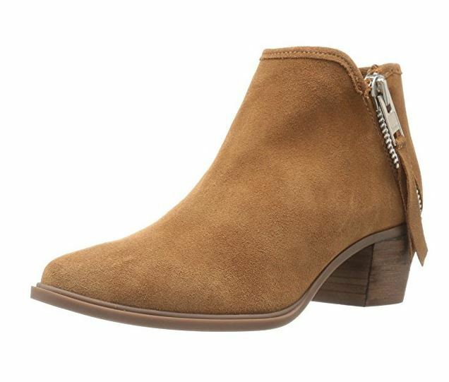 STEVEN by Steve Madden Womens Doris Closed Toe Suede Fashion Boots, Tan, Size 11
