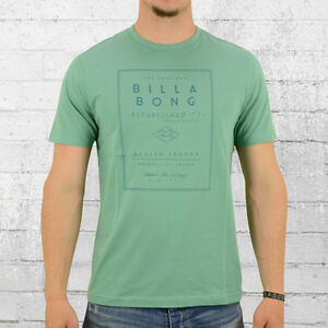 quality design 96ab2 0c5e8 Details zu Billabong T-Shirt Herren Devide grün Männer Tshirt Nicki Men's  Tee green