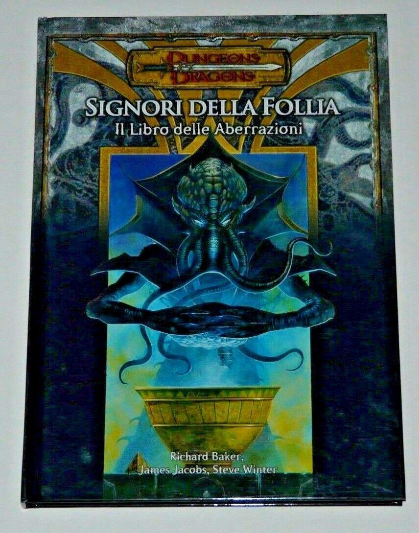 DUNGEONS AND DRAGONS D&D Gioco Di Ruolo Manuali multilisting GDR GDR GDR PRIMA EDIZIONE 9161e8
