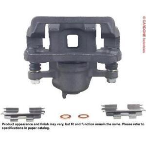 Disc Brake Caliper-Unloaded Caliper with Bracket Rear-Left//Right Cardone Reman