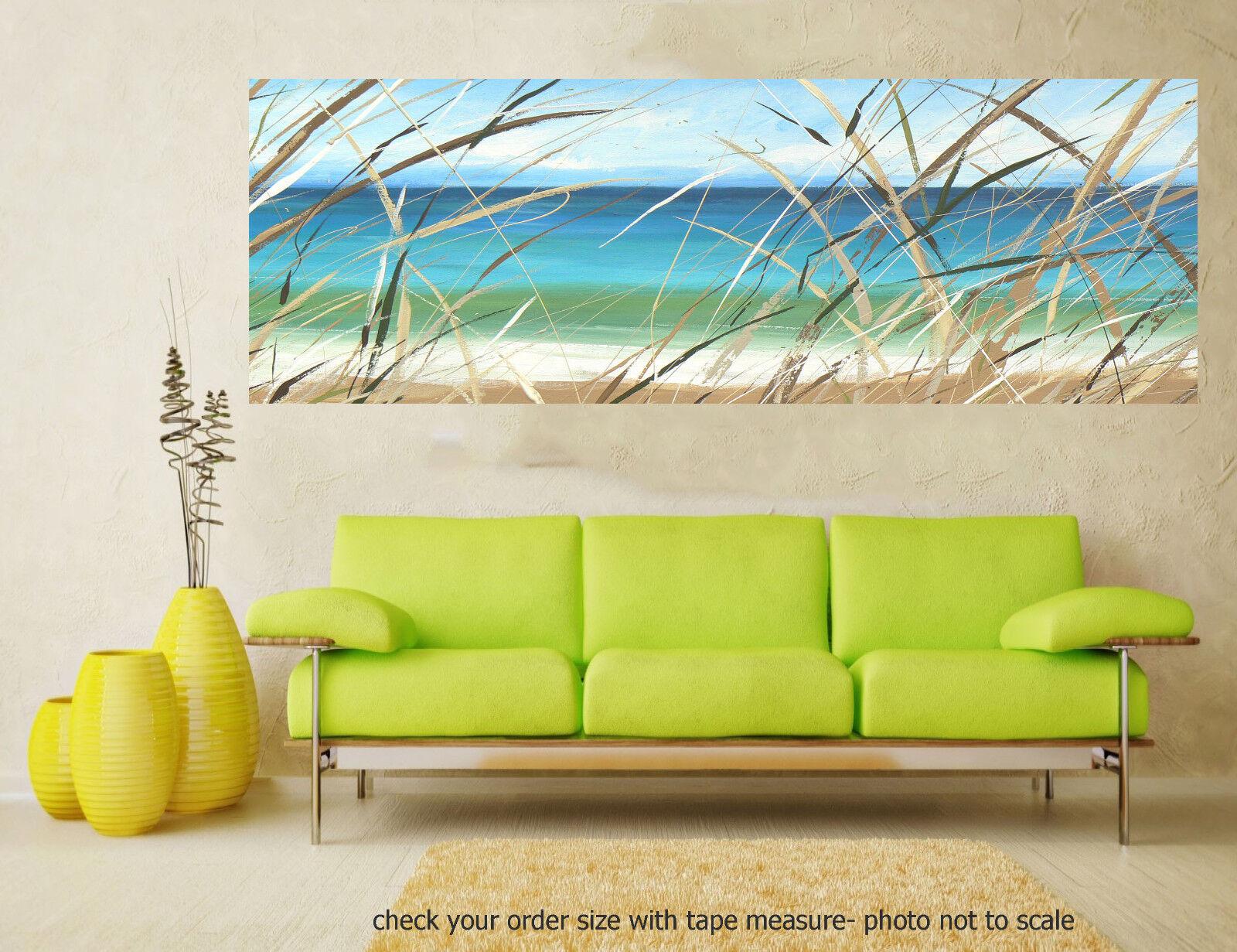 Art Painting Original Ocean Beach Gold coast Byron print  poster COA Australia